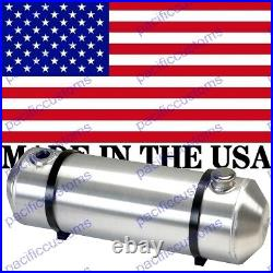 10X36 Spun Aluminum Gas Tank With Sending Unit Flange 12 Gallons Dune Buggy