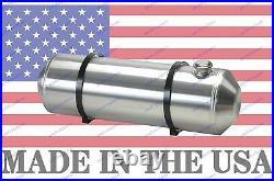 10X40 Spun Aluminum End Fill Gas Tank 13.5 Gallons For Street Rod Sandrail Trike