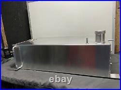 10 Gallon Baffled Aluminium Fuel Tank With Sender Unit And Sighttube