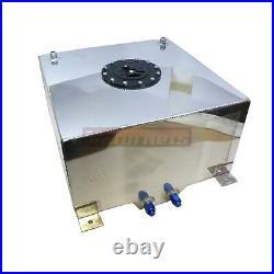 10 Gallon Fabricated Aluminum Fuel Cell Gas Tank 16 x 15 x 10 Hot Rat Rod SBC