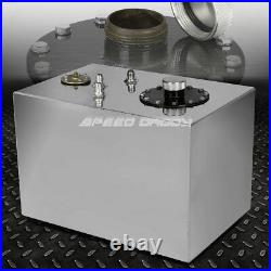 12 Gallon Top-feed Aluminum Fuel Cell Gas Tank+cap+level Sender+nylon Line Kit