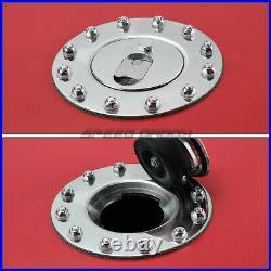 15 Gallon/57l Red Coat Aluminum Racing/drift Fuel Cell Tank+cap+level Sender