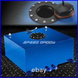 15 Gallon Blue Coated Aluminum Racing/drifting Fuel Cell Gas Tank+level Sender
