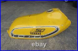 1976 Yamaha Yz250 Yz400 Mx250 Mx400 Aluminum Fuel Gas Petrol Tank Dt MX