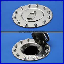 20 Gallon/76l Blue Coat Aluminum Racing/drift Fuel Cell Tank+cap+level Sender
