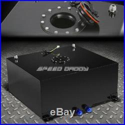 20 Gallon Black Coated Aluminum Racing/drifting Fuel Cell Gas Tank+level Sender