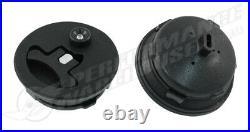 20 Litre / 5 Gallon Fuel Cell Black Powder Coated Aluminium