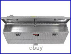 210751 TrailFX Aluminum 75 Gallon Auxillary Transfer Fuel Tank Tool Box Combo