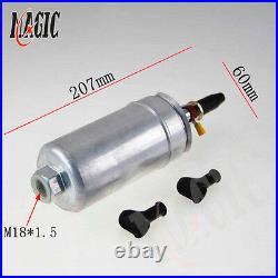 3L High Flow Fuel Swirl Surge Pot Tank + 2PCS External 044 Dual Fuel Pump SL