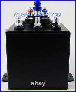400LPH AEM 50-1005 -8 an8 8an 6an -6 an6 Fuel Pump 2L surge tank 044 bosch
