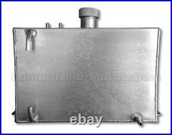 4 Gallon Square Aluminium Fuel Tank Drift/Kitcar/rally/Motorsport CMB7854