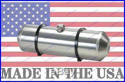 8X24 Spun Aluminum Gas Tank 5 Gallons Rat Rod Dune Buggy Center Fill