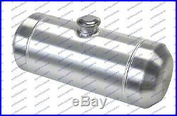 8x16 Spun Aluminum Fuel Tank 3.25 Gallons Tractor Puller Hotrod Gassers