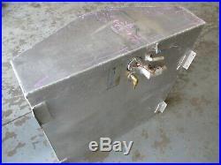 Aluminum Marine Boat Gas Tank Fuel Cell 52 Gallon 36 x 34 x 12 1/2