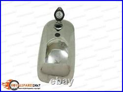 BSA A65 SPITFIRE HORNET 2 GALLON ALUMINUM FUEL TANK + FREE FUEL CAP & TAPFit