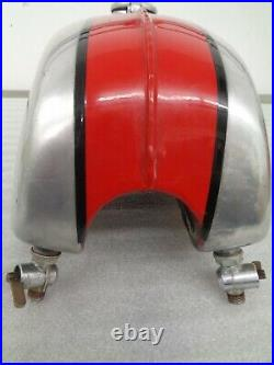 BSA B25T B50T B50MX B25 B50 ALLOY FUEL GAS PETROL TANK With PETCOCKS AND CAP OEM