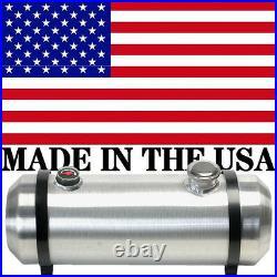 Buggy Fuel Tank 10x33 Spun Aluminum Round Gas Tank 10.75 Gallons