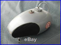 CZ WASSELL gas fuel petrol Aluminum TANK Vintage MX MotoCross 125 250 380 400