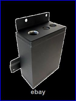 Fleece Performance Aluminum Relocation Coolant Tank For 2013-2018 6.7L Cummins