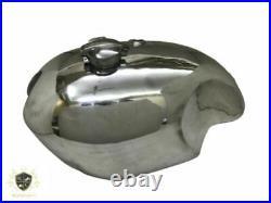 Fuel Petrol Gas Tank + Cap Alloy /Aluminium Polished BSA Rocket Goldstar Clubman