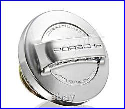 Genuine PORSCHE 911 Carrera Fuel Tank Cap Aluminium Look PCG20127100