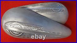 Harley gas tank, oil tank aluminum, UL, VL, WL, chopper, bobber, custom