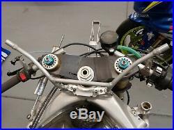 Kawasaki ZX7RR Kit Fuel Tank Mounts. Superbike. For Aluminum fuel tank