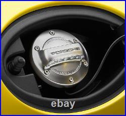 New Genuine Porsche Aluminium Look Fuel Tank Cap 981 Boxster Cayman 00004400191