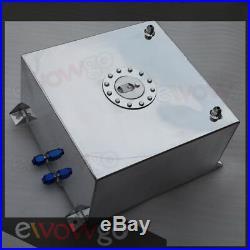 Non Sensor Mirror Polished Aluminum 60L /15 Gallon Fuel Cell Tank