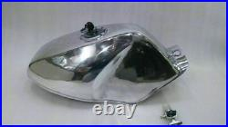 Petrol Fuel Tank Moto GP Light Aluminum Alloy Yamaha TZR TZR250 (Reproduction)