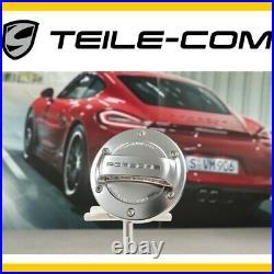 Porsche Alu Look Tank Verschluss 911 996 997 986 987 Boxster 987C Cayman Cayenne