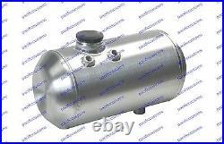 Rat Rod Gas Tank 5 Gallons Spun Aluminum 8 X 20 Inch Billet Cap USA Made