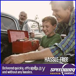 Speedway Motors 7 Gallon Spun Aluminum Hotrod Ratrod Fuel Tank, 2-1/4 Neck
