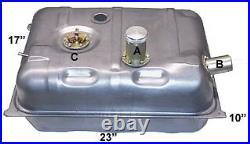 Tanks Inc Uspt-ga Universal Steel Fuel Gas Tank With 3 Neck & Aluminum Cap