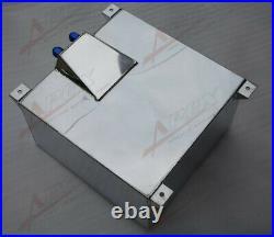 UK SHIPPING Non Sensor Aluminum 40L /10 Gallon Fuel Cell Tank AN10 In/Outlet