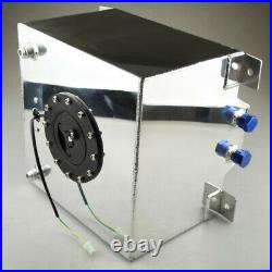 UK STOCK 5 Gallon Fuel Cell Tank Lightweight Aluminum + GM Sending Unit