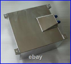 Universal Lightweight Aluminum 10 Gallon Fuel Cell Tank + GM Sending Unit UK
