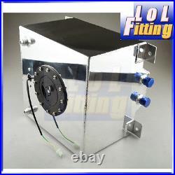 Universal Lightweight Aluminum 20L/5 Gallon Fuel Cell Tank with GM Sending Unit