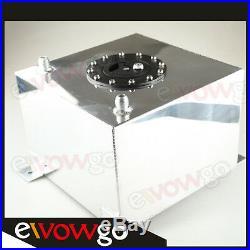 Universal Mirror Polished Lightweight Aluminum 20L / 5 Gallon Fuel Cell Tank