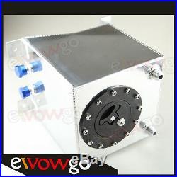 Universal Polished Lightweight Aluminum 10L /2.5 Gallon Fuel Cell Tank