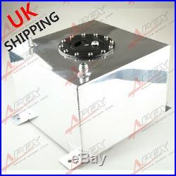 Universal Polished Lightweight Aluminum 20L / 5 Gallon Fuel Cell Tank UK