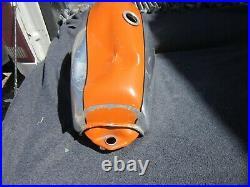 YAMAHA TT 500 Aluminum OEM Fuel Tank Gas Tank TT500 dented original