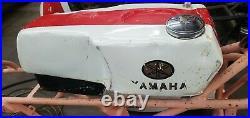 Yamaha TD2 Gas Tank. TD1, TD2B, TD3, TR2, TR3, TZ250A Aluminum Gas Tank, Petcock